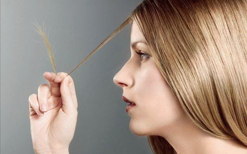 Pflege von trockenen Haaren